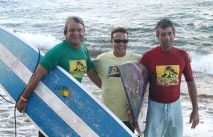 Rafelito, Robbie y Roberto