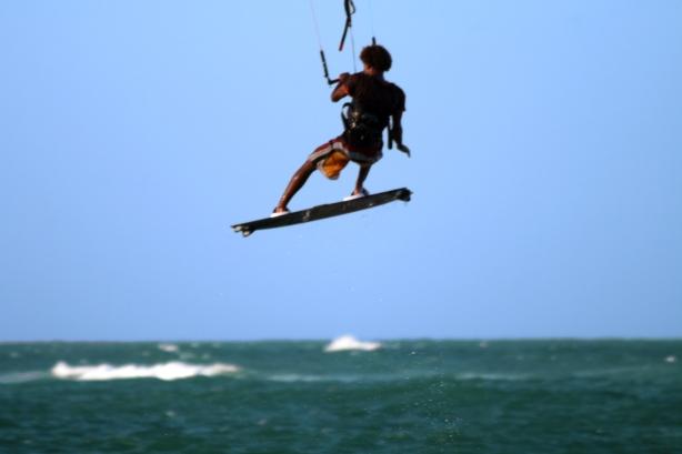Volar con el viento... He ahí una experiencia!