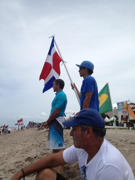 El equipo dominicano se ha caracterizado por contar con un ambiente de cordialidad fantástico Foto: Ricardo Ripoll