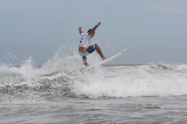 Robbie Reid volando!!