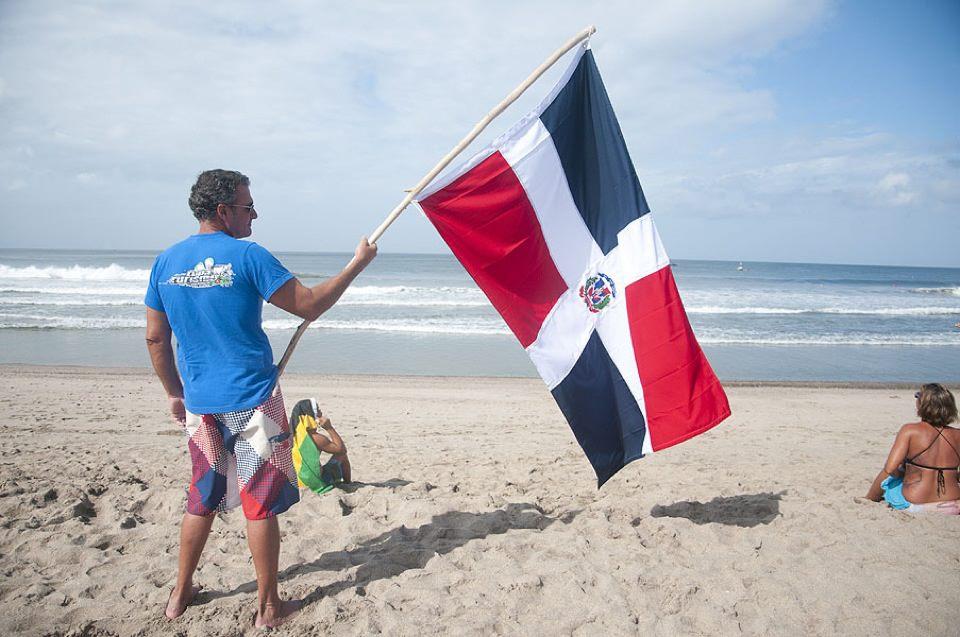 La bandera en Nicaragua