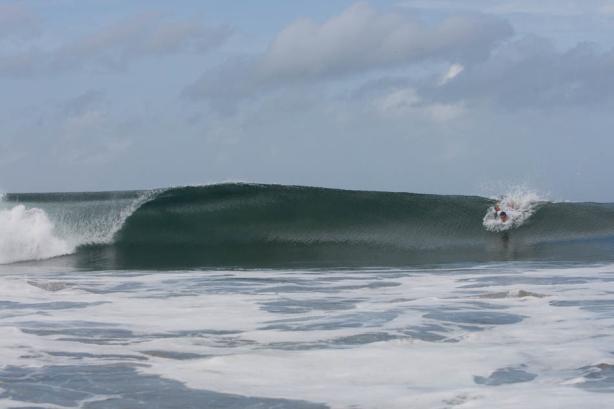 Las olas han sido un espectaculo en este world master