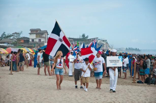 Gracias Robbie por llevar nuestra bandera en alto en el surfing internacional.