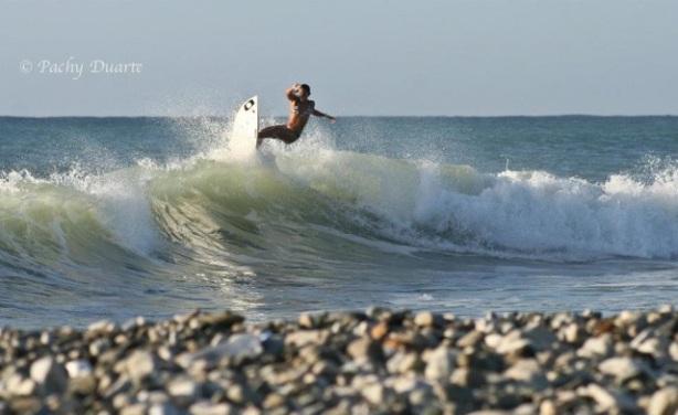"""""""Hasta que me convencieron y tomé la decisión de correr el Circuito de surfing Nacional"""""""