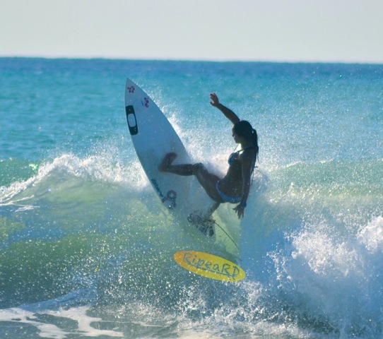 El surf ha sacado a flote en mí, emociones, pasiones, que no sabía que tenía
