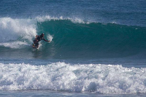 El moreyboogie también tuvo su participación con Juan Carlos Torres en playa Encuentro